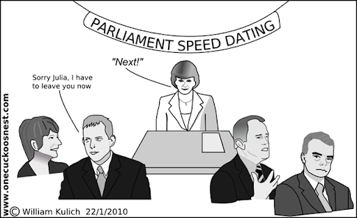 julia gillard cartoon. Tony Abbott to Julia Gillard:
