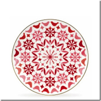 Holly Heights Accent Plate Pink.katespade.com