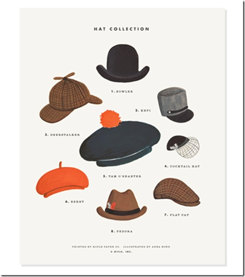 HatCollectionPrint.RiflePaperCo.com