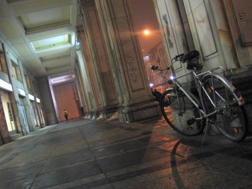 rower przy Marszałkowskiej