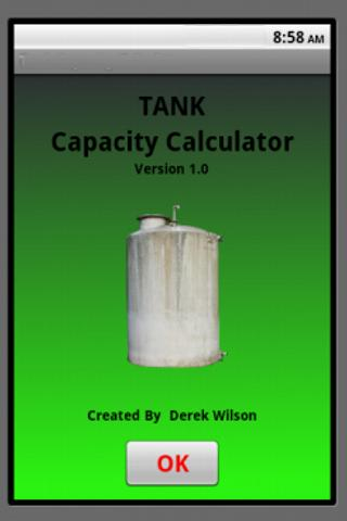 Tank Capacity Calculator