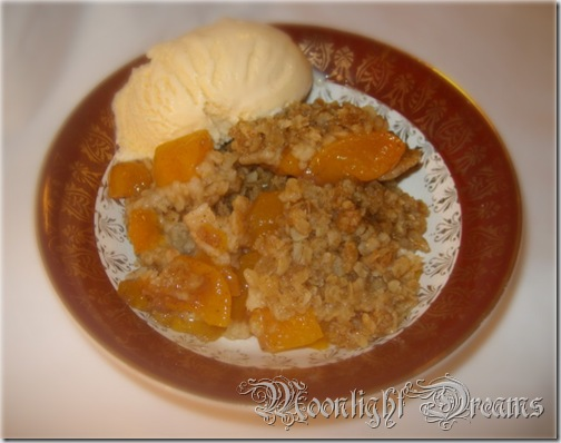 golden peach crunch