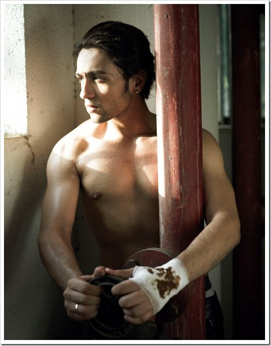 Adhyayan Suman without shirt