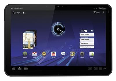 Motorola XOOM Front