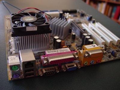 ATx - CPU & fan