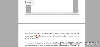 OpenOffice.org Writer - Spellcheck