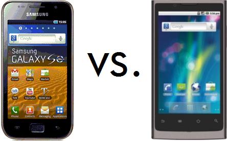 Samsung Galaxy S LCD 4 GB vs OliveSmart V-S300
