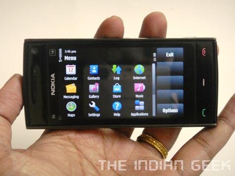 Nokia X6 16 GB - 04