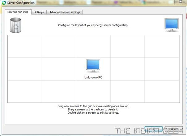 Synergy - Server Configuration
