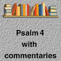Psalm 4 with commentaries icon