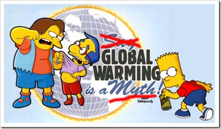 Simpsons-Global-Warming-Is-A-Myth-Poster