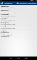 Screenshot of BOINC