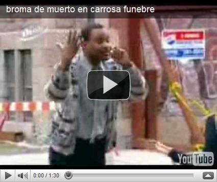 video de muerto: