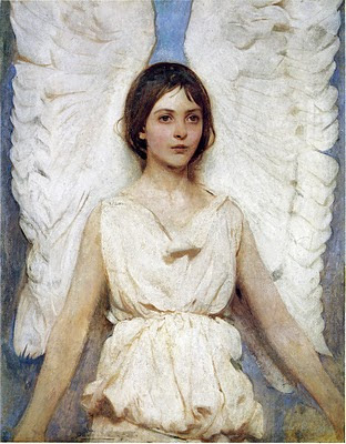 1 Abbott Handerson Thayer (American painter, 1849-1921) Angel 1889.jpeg