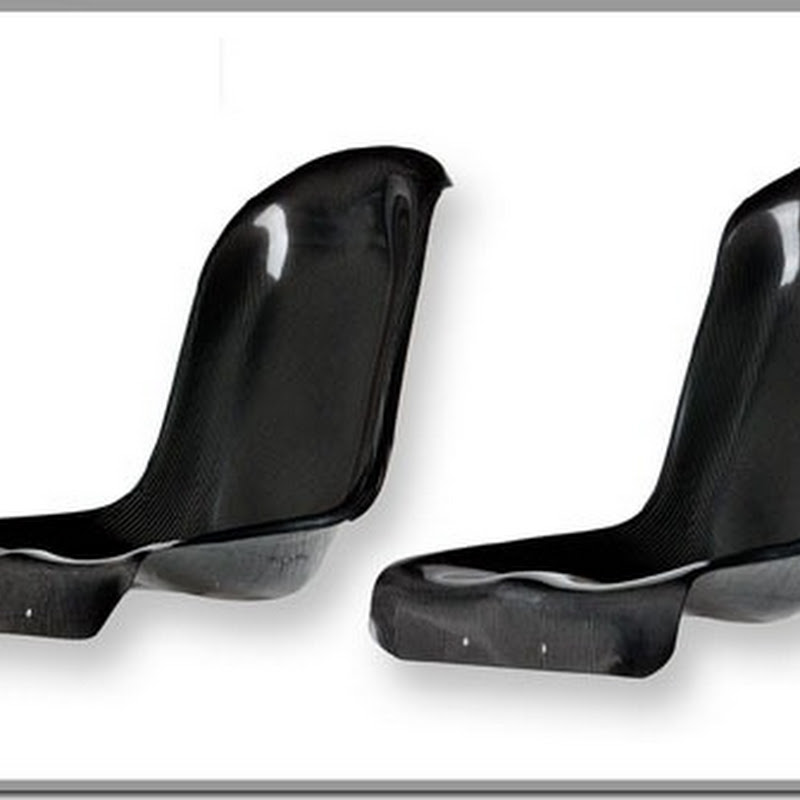 Password JDM Dry Carbon Fiber Rear Seat Delete