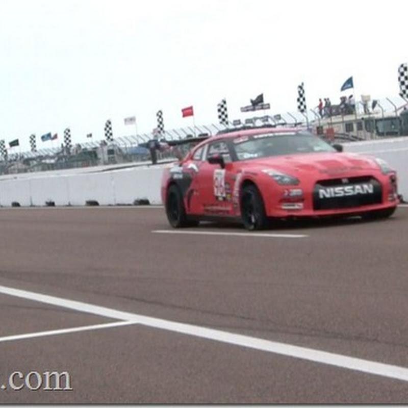 Brass Monkey GT-R Runs Over Porsche During World Challenge Race