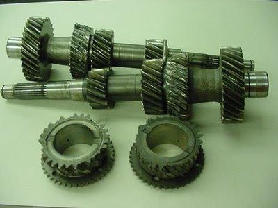 GTR broken transmission gears