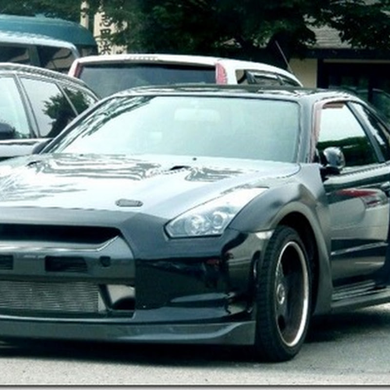 R34 with R35 Front End Conversion