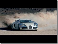 Bugatti_Veyron in Gerlach_Nevada