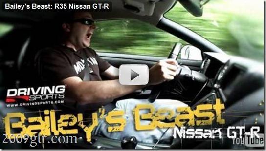 Tim Bailey Nissan GT-R