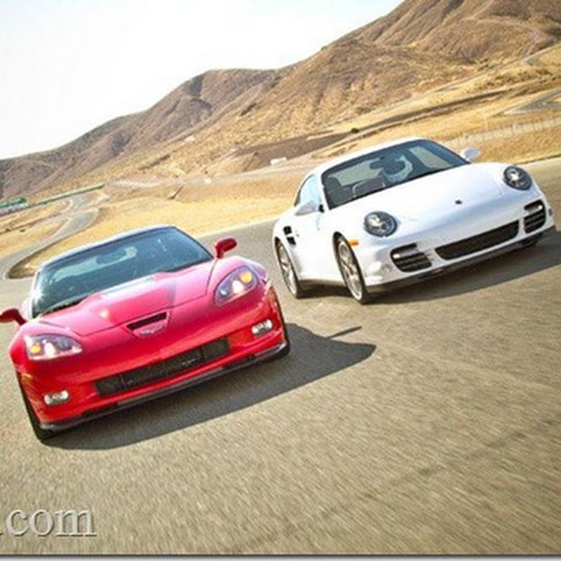 2011 Corvette ZR1 vs 2010 Porsche Turbo : Motor Trend