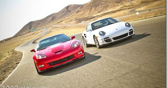 2011 corvette zr1 vs 2010 porsche turbo motor trend. Black Bedroom Furniture Sets. Home Design Ideas