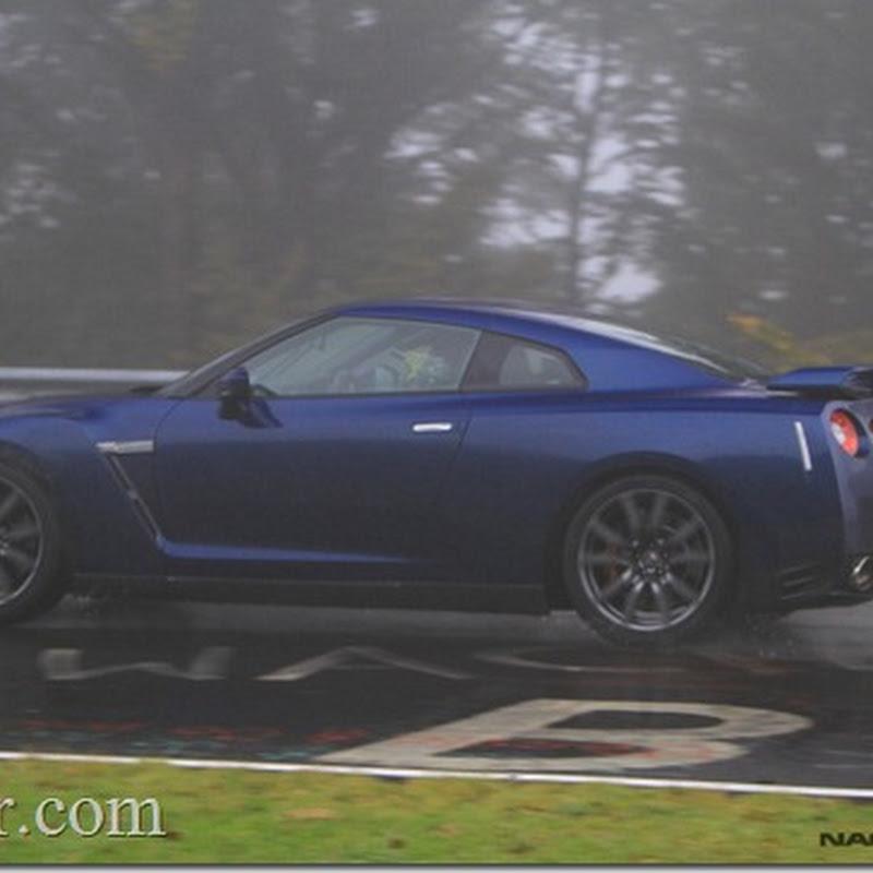 2012 Nissan GT-R Unmasked at Nurburgring