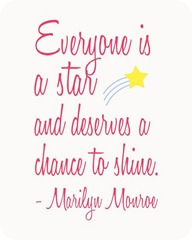 everyone-is-a-star-marilyn-monroe-quote-in-pink