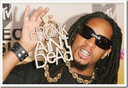 Lil John's Crunk Aint Dead Pendant