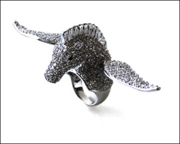 Flying Peagasus ring