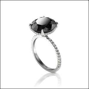 Sex and the City Black Diamond Ring