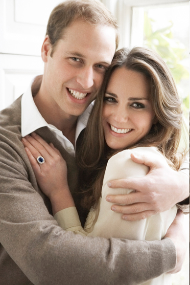 Prince William and Kate Middleton official picture