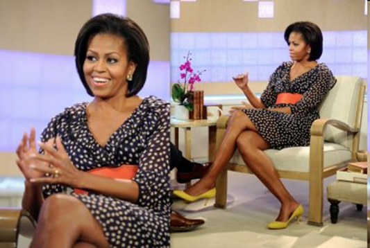 Michelle Obama H&M dress