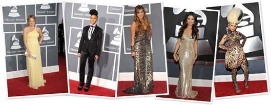 View Celebrities and Fashion at Grammy Awards 2011