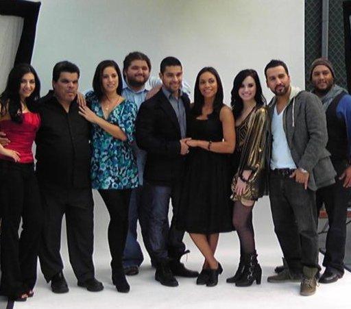 Demi Filma Anuncio para Latinos USA Demi-shoot-latinos-BDLT-3