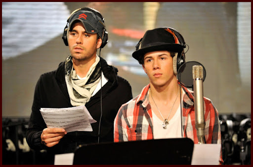 Jonas Brothers grabando WE ARE THE WORLD [Fotos!] Wearetheworld032J