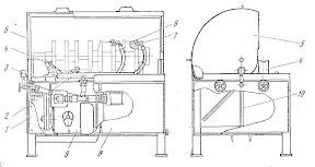 Установка центробежной очистки масляных каналов коленчатых валов двигателей