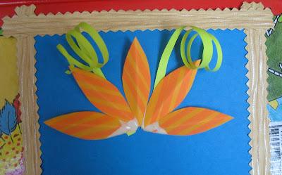 Поздравительная картина с букетом цветов