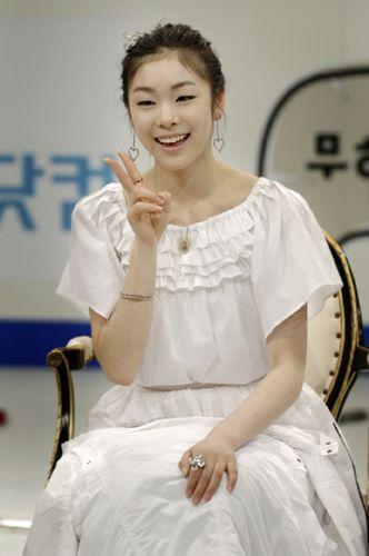 Photo Gallery: Korea Female Skater Yu-Na Kim