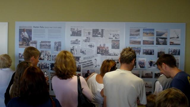 Näitus Saaremaa Sadama ootesaalis