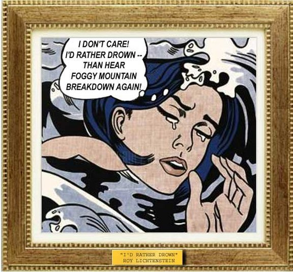 Not a Roy Lichtenstein, but an incredible simulation