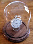 Glass Dome Pocket Watch Display