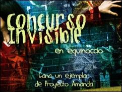 Concurso Invisible. Equinoccio