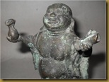 Patung Buddha kuningan - barang antik