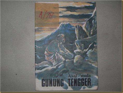Buku Asal Mula Gunung Tengger