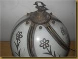 Lampu meja keramik - kap