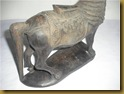 Patung kuda - belakang