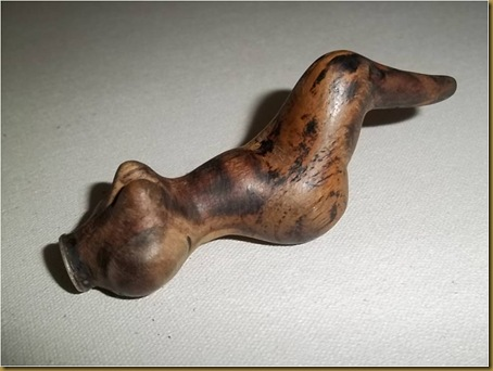 Once kayu bugil - depan