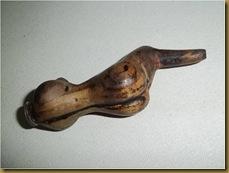 Once kayu bugil - belakang