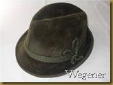 Topi Fedora Wegener hijau